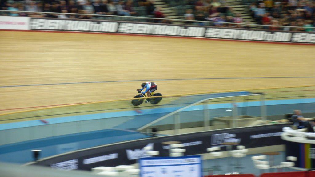Annie Foreman-Mackey Women's Individual Pursuit World Track Championships 2016 London