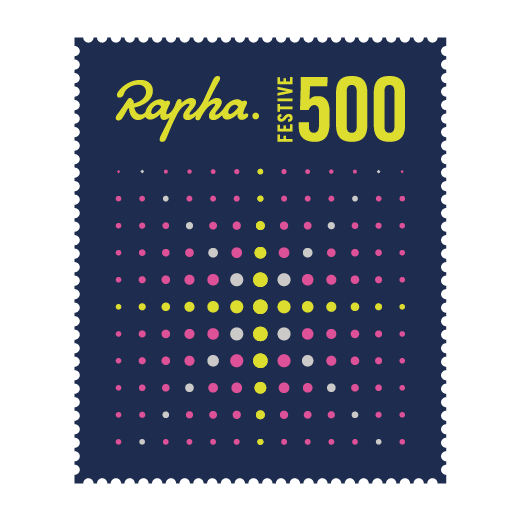 Rapha Festive 500 2016 Logo