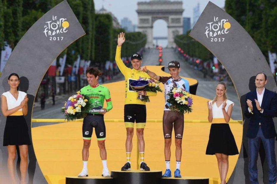 tour de france podium 2017