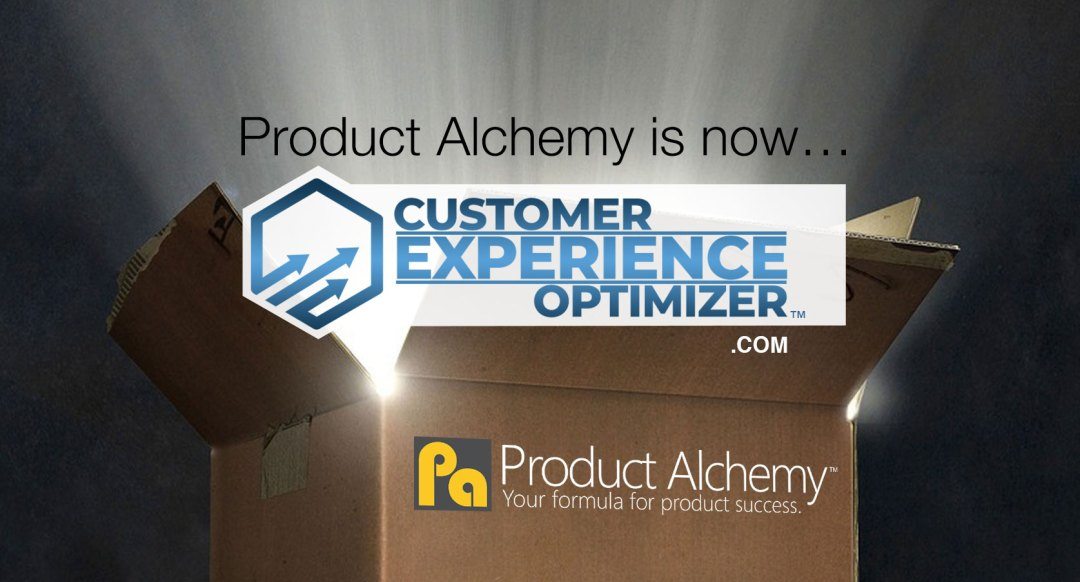 Product Alchemy is now Customer Experience Optimizer