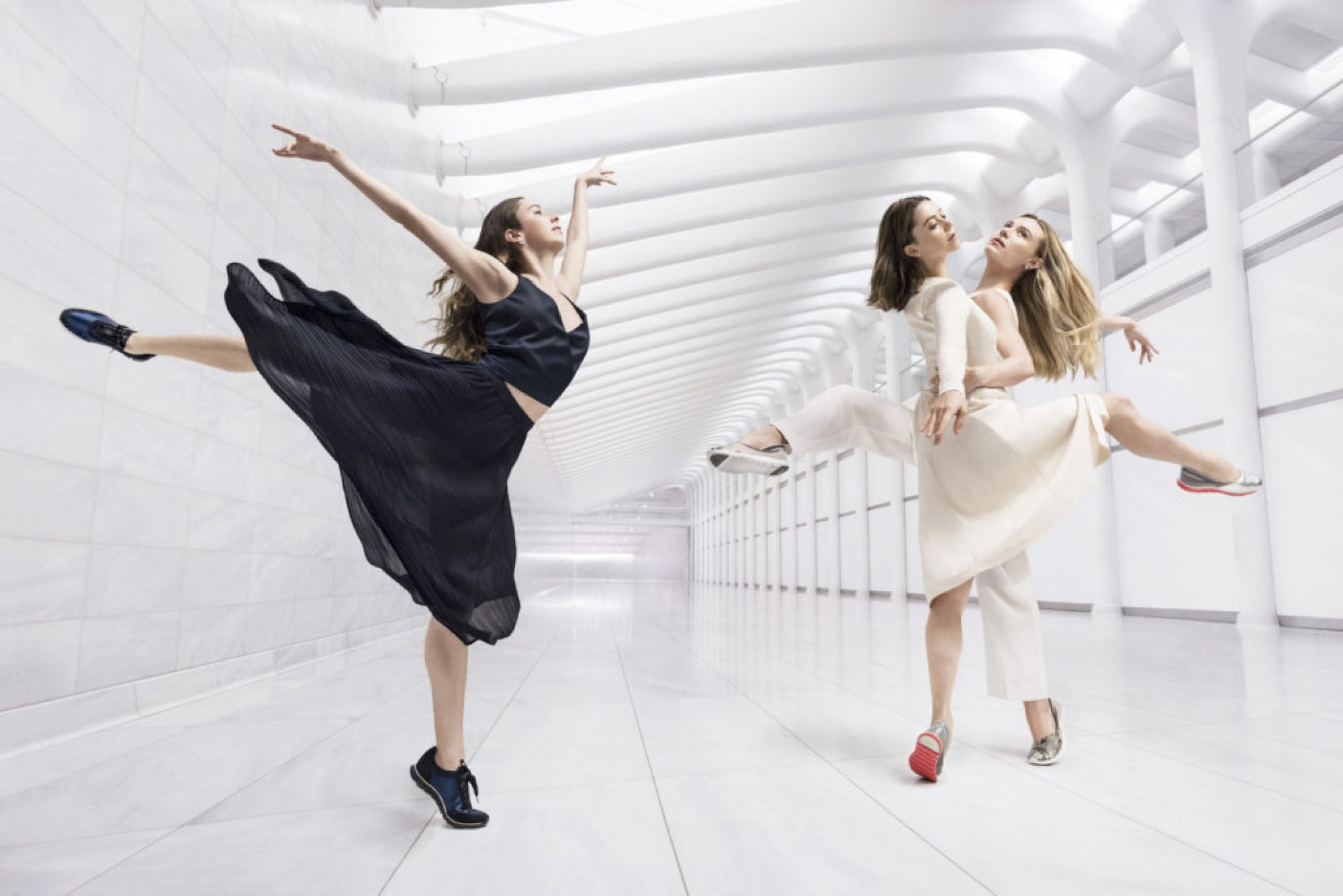 Cole Haan Spring 16 Campaign – The Art of Elegant Innovation (Gretchen Smith, Megan Fairchild, Sara Mearns) (Photo courtesy of Cole Haan)