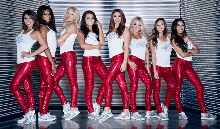 """L.A. Clippers Dance Squad,"" a new original docu-series produced by Mandalay Sports Media"