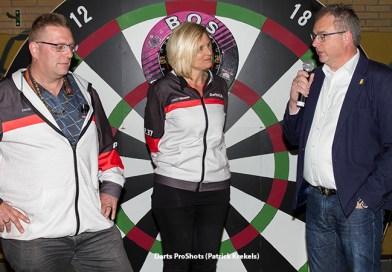 Darts4Life darten voor het hart levert 9000 euro op voor de Hartstichting