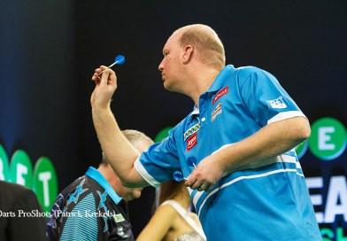 European Darts Matchplay: van der Voort & van Gerwen naar laatste 16