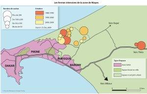 Les fermes intensives de la zone de Niayes