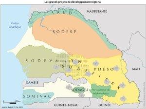 Les grands projets de développement régional
