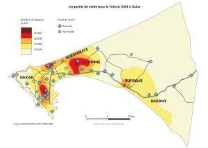 Les points de vente pour la Tabaski 2008 à Dakar
