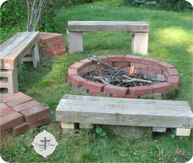 Concrete & Cinder Block Projects on Hometalk - Prodigal Pieces on Simple Cinder Block Fireplace id=80810