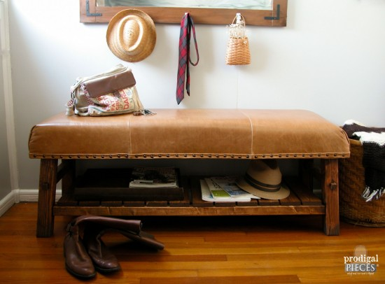 Pottery Barn Knock Off Caden Bench Prodigal Pieces