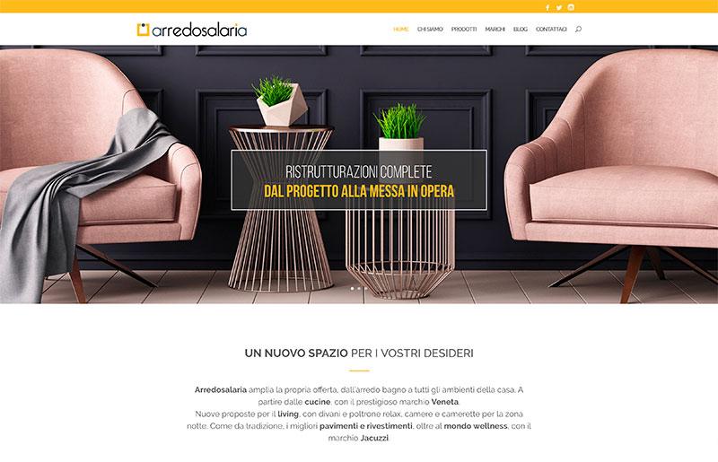 restyling sito web arredamento