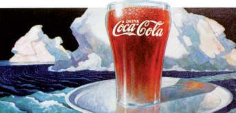 Coca cola affiche 1936