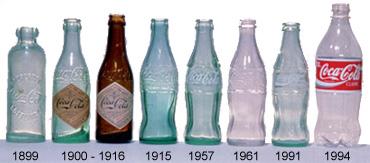 Coca cola bouteilles