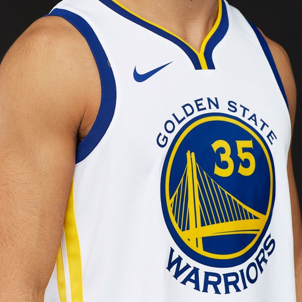 Mens Replica - Nike NBA Kevin Durant Golden State Warriors ...