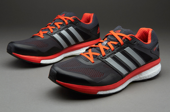adidas Supernova Glide Boost 7 - Mens Shoes - Dark Grey ...