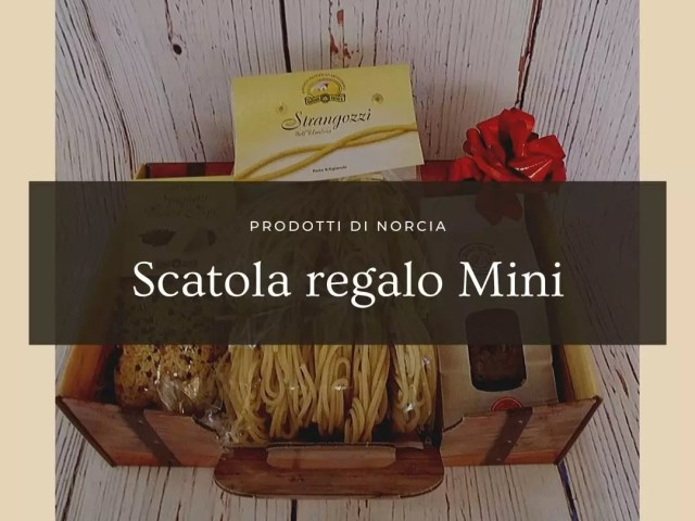 Scatola regalo Mini