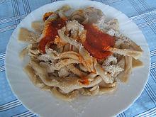 Lasagne ncannulate al pomodoro