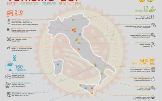 mappa turismo e prodotti tipici