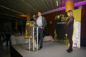 Manel Berenguer - Premio Poc d'Or con diamante 2009, 2010 y 2012
