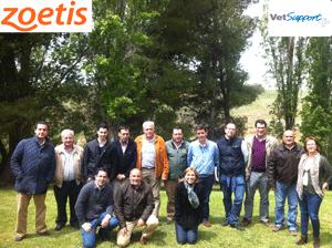 Particinpantes en las Jornadas VetSupport+ para la comunicación y gestión de conflictos en el trabajo
