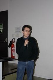 Enric Mateu durante la presentación del proyecto ConPRRS