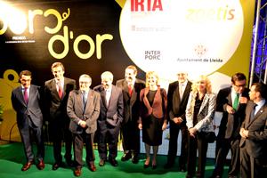 INTERPORC impulsa los prestigiosos premios PORC D'OR, entregados el pasado día 21 en Lleida