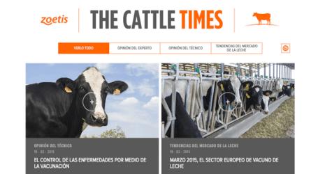 """""""The Cattle Times"""", el nuevo portal de información para los profesionales del sector vacuno"""