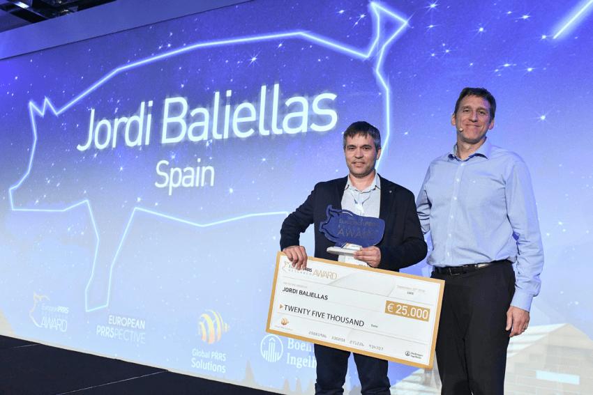 Foto_Jordi_Baliellas_PRRS_Award_2018_Boehringer_Ingelheim