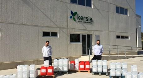 Kersia dona material de higiene y desinfección para la lucha frente a la COVID-19