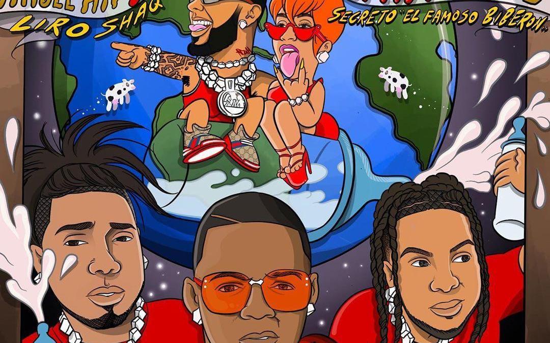 Anuel AA, Cardi B, Black Jonas Point, Secreto, Liro Shaq – La Bebe (Remix)