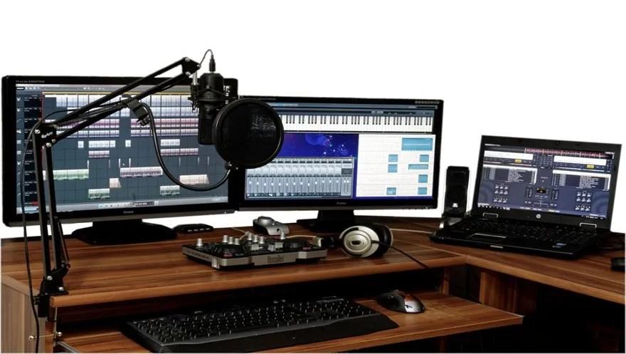 5. Computadora para producción musical