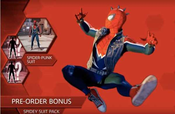 Spider-Man PS4 release date with pre-order bonuses ...