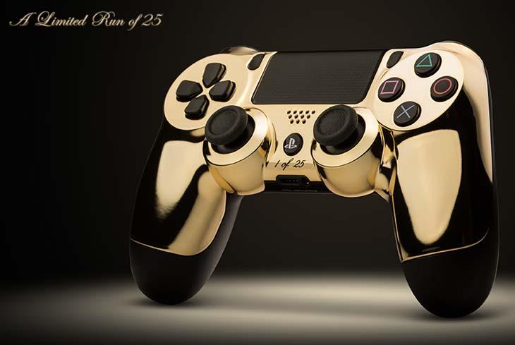 ColorWare 24k Gold PS4 DualShock 4 Controller Joins XB1
