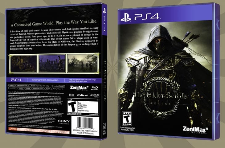 Elder Scrolls Online PS4 Problems With Content Error