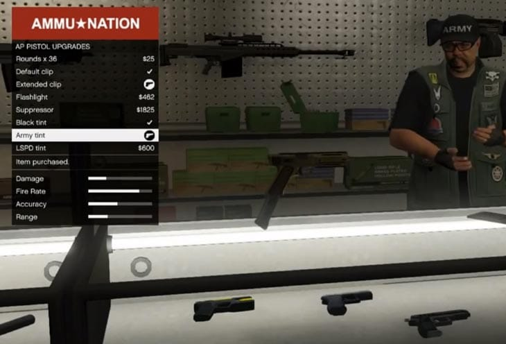 GTA V Weapons Setup Stops Cheaters Product Reviews Net