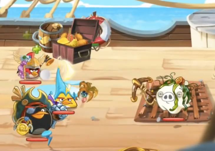 Angry Birds Epic Levels