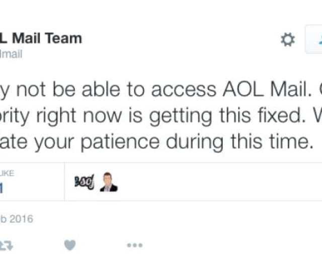 Aol Mail Status