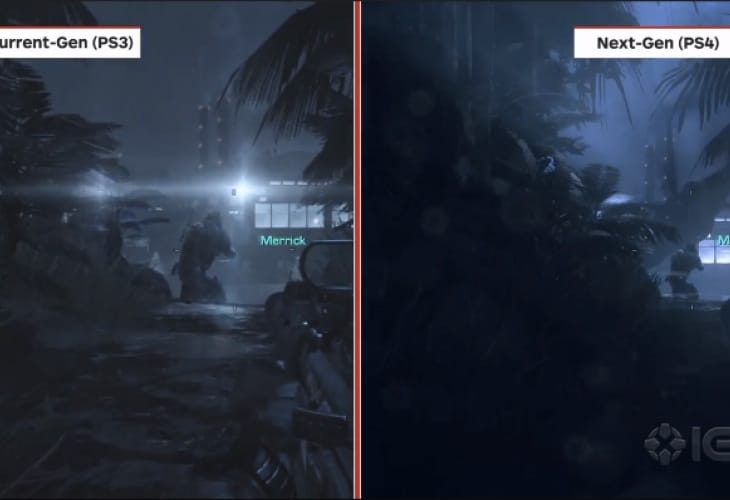 COD Ghosts PS4 Vs PS3 Xbox 360 Shows Painful Differences