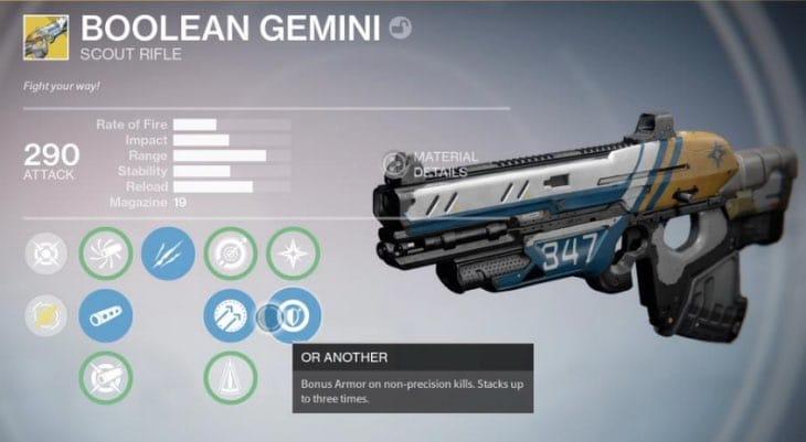 Easy Destiny Boolean Gemini Exotic Quest Steps Product