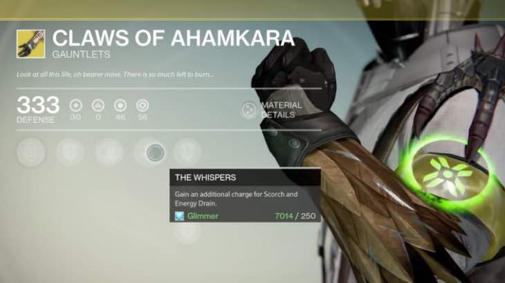 Destiny Claws Of Ahamkara Stats And Review Product Reviews Net