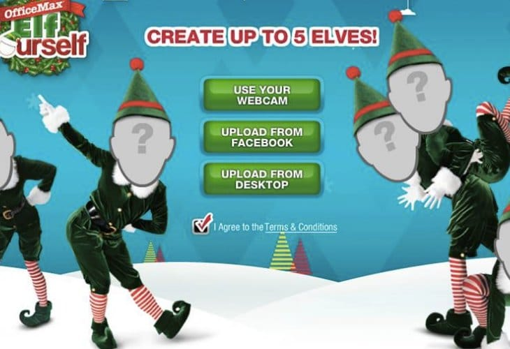 Elf Yourself Dance Themes Next For App Product Reviews Net