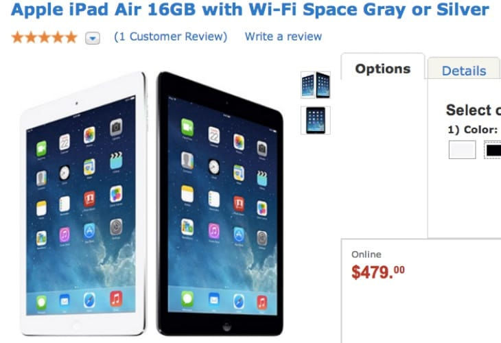 Lowest IPad Air Price Goes To Walmart Product Reviews Net