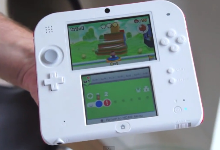 Nintendo 2DS First Look Hands On Product Reviews Net