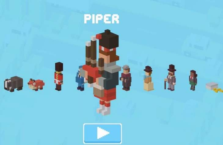New Crossy Road Piper Character In England Update