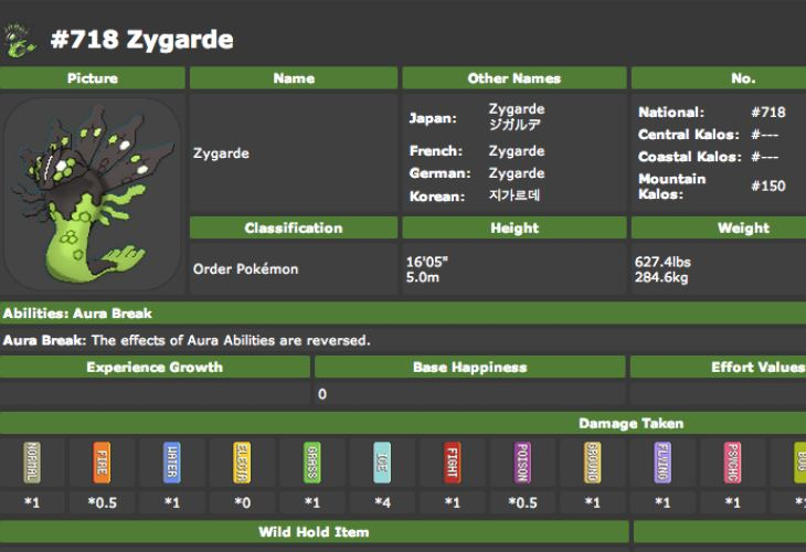 Pokemon X And Y Pokedex Unleashed On Serebii Product Reviews Net