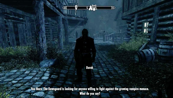 Start Skyrim DLC With Fort Dawnguard Quest Product