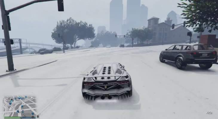 GTA V PC Mod For Unlimited Snow Arrives Product Reviews Net
