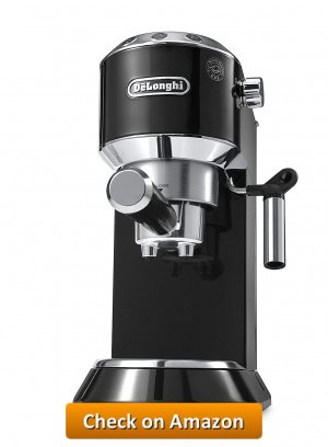 DeLonghi America EC680B Dedica 15 Bar Pump Espresso Machine