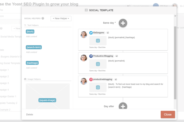 How to schedule and automate social media with CoSchedule