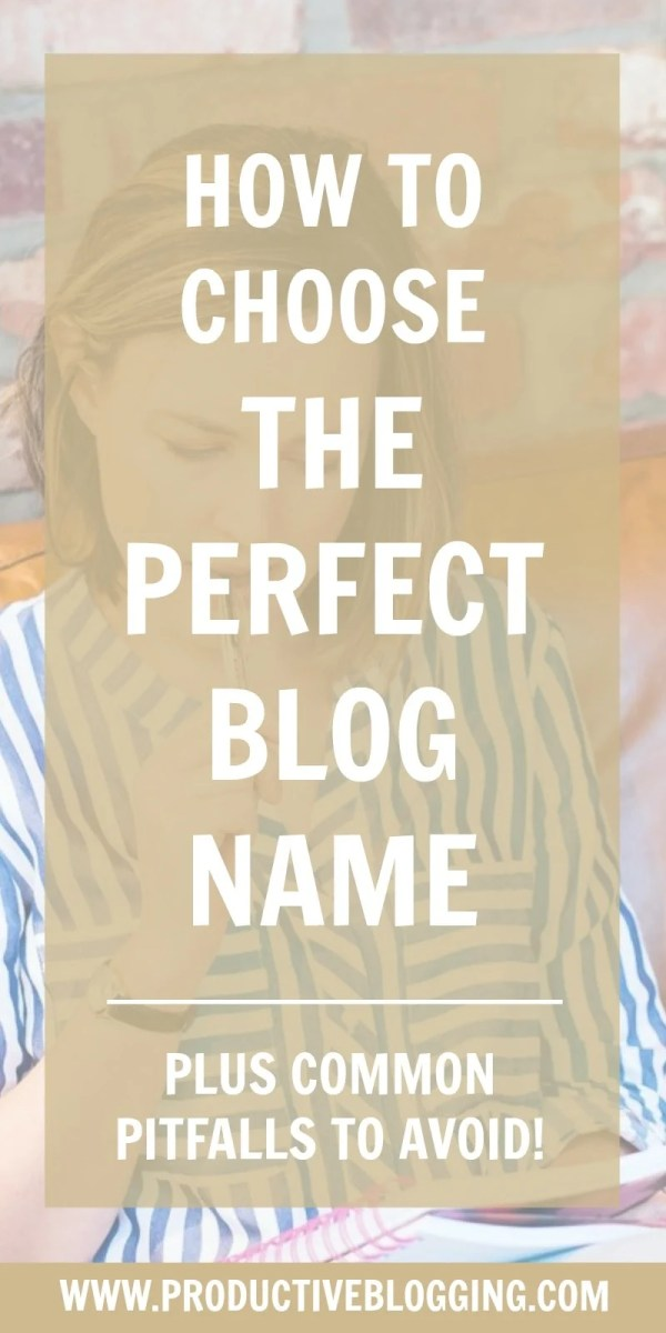 Are you planning to start a new blog in 2019? One of the trickiest decisions you will have to make, and one of the most important will be what to call it. Here's how to choose the perfect blog name… #blogname #newblogname #domainname #url #websitename #newblog #newblogger #bloggingnewbie #startablog #makemoneyblogging #bloggersofinstagram #blog #blogging #blogger #bloggers #bloggingtips #blogginghacks #productiveblogging