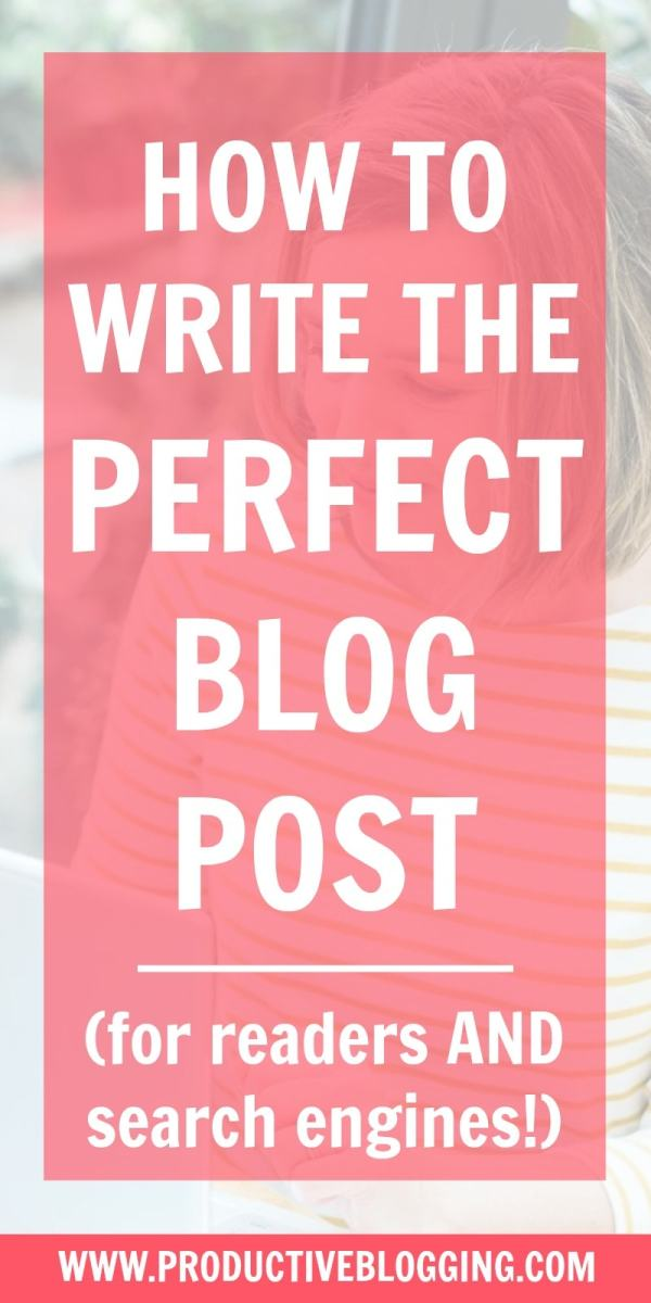 Is it possible to write a great blog post that appeals to your readers AND performs well in search engines? Absolutely! Learn how to write the perfect blog post for SEO AND your readers. #SEO #Yoast #searchengineoptimization #perfectblogpost #blogpost #blogwriting #blogcontent #keywordresearch #Htags #CTA #internallinking #readability #editing #productiveblogging